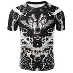 T-Shirt Loup<br> Bad Wolf - Loup-Faction