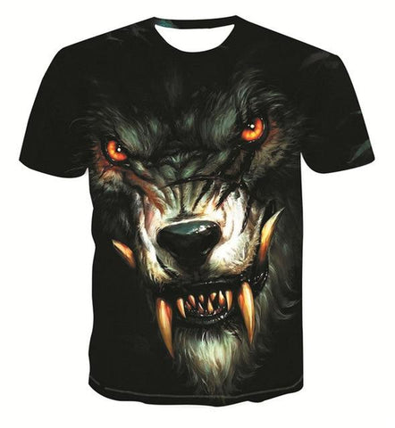 T-Shirt Loup<br> Loup Garou - Loup-Faction