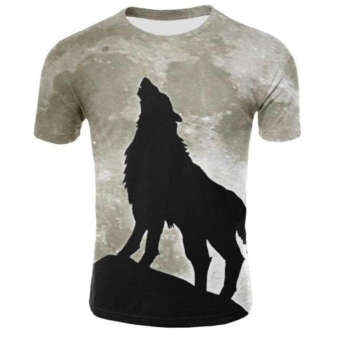 T-Shirt Loup<br> Hurlant - Loup-Faction