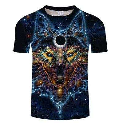 T-Shirt Loup<br> Indien - Loup-Faction