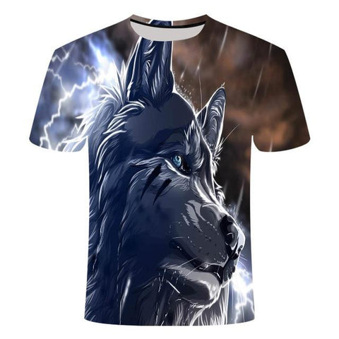 T-Shirt Loup<br> Petit Loup - Loup-Faction