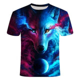 T-Shirt Loup<br> Yeux De Loup - Loup-Faction