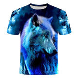 T-Shirt Loup<br> Sagesse Du Loup - Loup-Faction