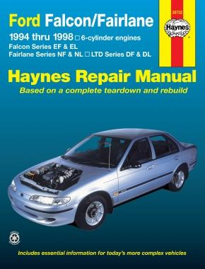 Haynes Falcon EF EL 1994-1998 Repair Manual 36732 - Port Kennedy Auto Parts & Batteries