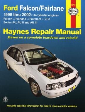 Haynes Falcon AU 123 (6) 1988-1997 Repair Manual 36733 - Port Kennedy Auto Parts & Batteries