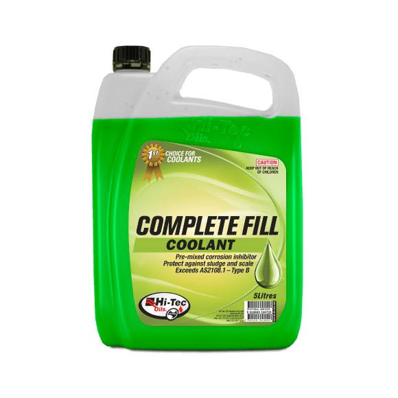 Coolant Impact Complete Fill Green 5L - Port Kennedy Auto Parts & Batteries