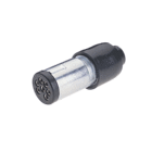 Trailer Connector 7 Pin Small Metal Plug