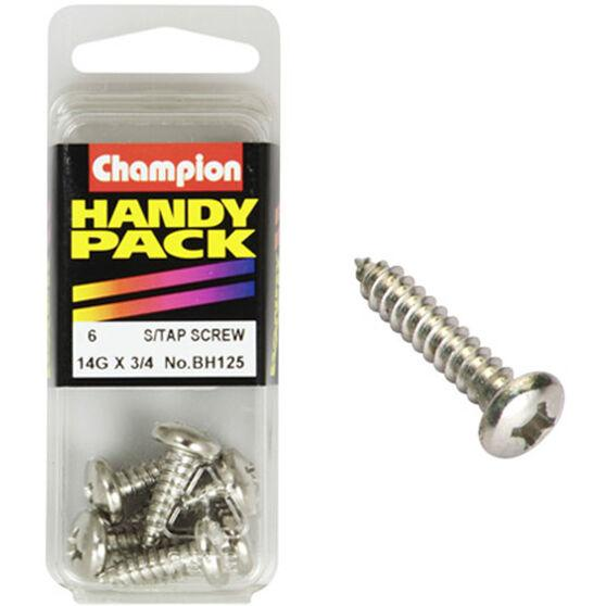 "Self Tapping Screws 14G x 3/4"" BH125 - Port Kennedy Auto Parts & Batteries"