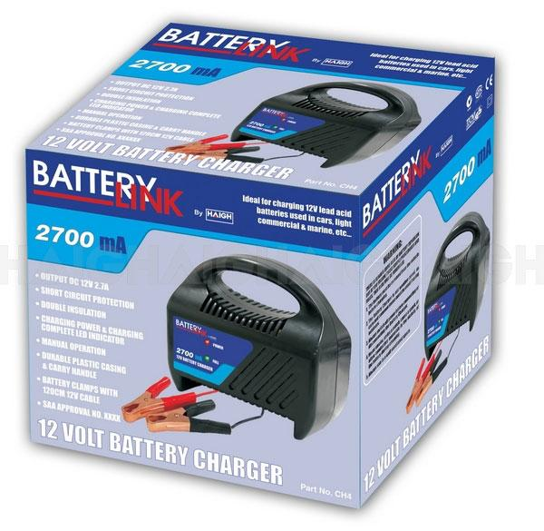 Battery Link Charger CH4 - Port Kennedy Auto Parts & Batteries