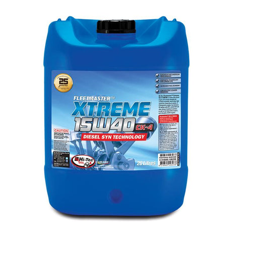 Oil Hi-Tec Fleetmaster CK-4 Extreme 15W40 - 10L - Port Kennedy Auto Parts & Batteries