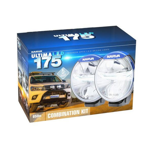 Ultima 175 LED Combination Driving Light Kit 71665 - Port Kennedy Auto Parts & Batteries