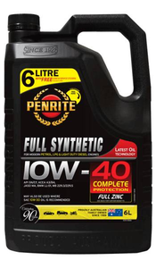 Oil Engine Penrite Everyday Full Synthetic 10W-40 6L