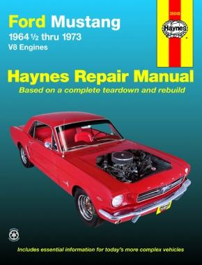 Haynes Manual Ford Mustang 1964-73 36048 - Port Kennedy Auto Parts & Batteries