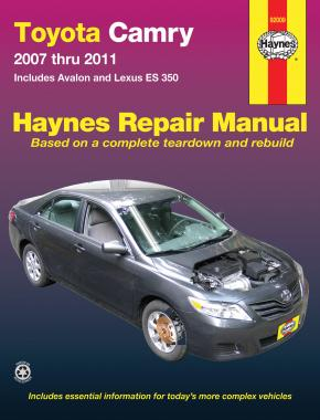 Haynes Manuals Camry 2007 to 2011 92009 - Port Kennedy Auto Parts & Batteries