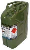 Jerry Can Metal Green 20Lt - Port Kennedy Auto Parts & Batteries