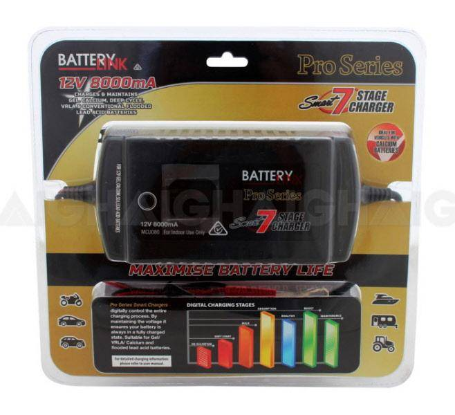"Battery Charger ""Smart"" 7 Stage - Port Kennedy Auto Parts & Batteries"