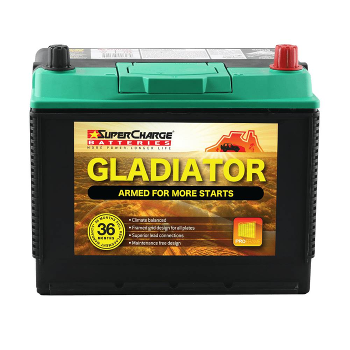Battery SuperCharge Gladiator MFX80D26L - Port Kennedy Auto Parts & Batteries