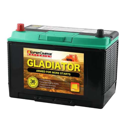 Battery SuperCharge Gladiator MFX95D31L - Port Kennedy Auto Parts & Batteries