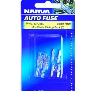 Fuse Blade Mini 25amp - Port Kennedy Auto Parts & Batteries