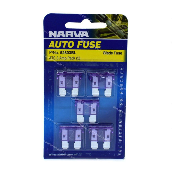 Fuse Blade Standard 3amp - Port Kennedy Auto Parts & Batteries