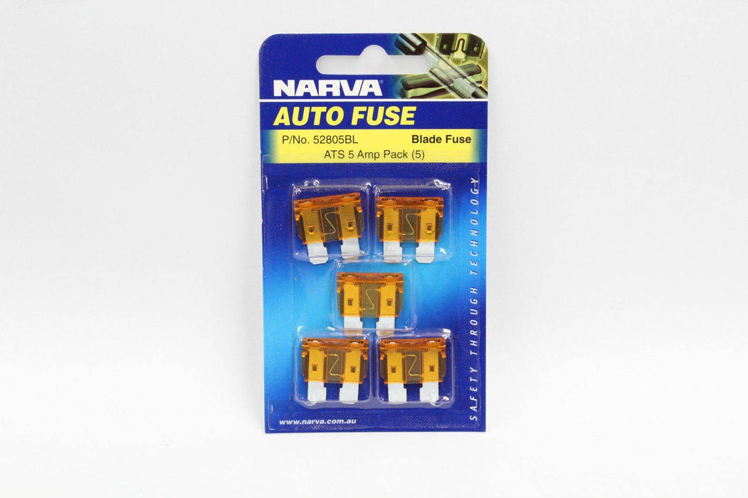 Fuse Blade Standard 5amp - Port Kennedy Auto Parts & Batteries