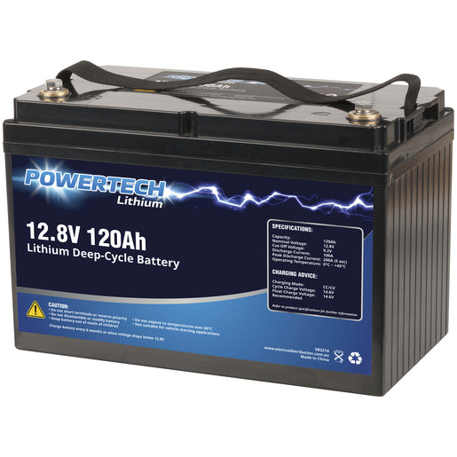 Battery Lithium Deep Cycle 12.8V 120 Ah SB2216
