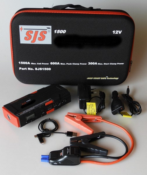 Smart Charger Personal Power Pack/Jump Starter 1500 Amp - Port Kennedy Auto Parts & Batteries