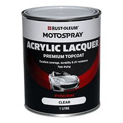 Acrylic Top Coat Clear 1Ltr - Port Kennedy Auto Parts & Batteries