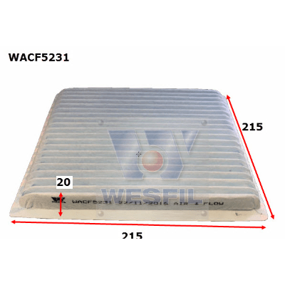 Air Filter Cabin WACF5231 - Port Kennedy Auto Parts & Batteries