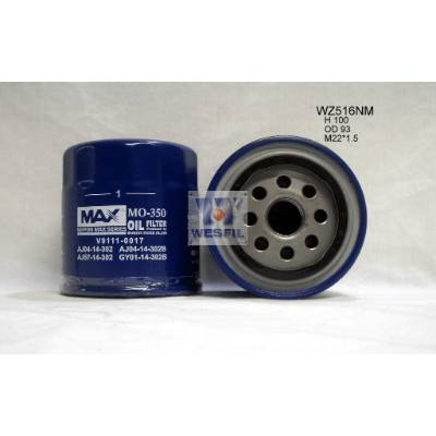 Oil Filter Ford/Mazda WZ516 - Port Kennedy Auto Parts & Batteries