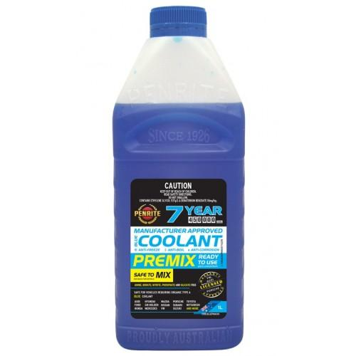 Coolant Premix Penrite Blue 1L - Port Kennedy Auto Parts & Batteries