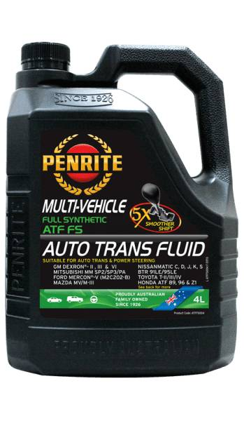 Transmission Fluid Penrite ATF FS (Full Syn.) 4L ATFFS004 - Port Kennedy Auto Parts & Batteries