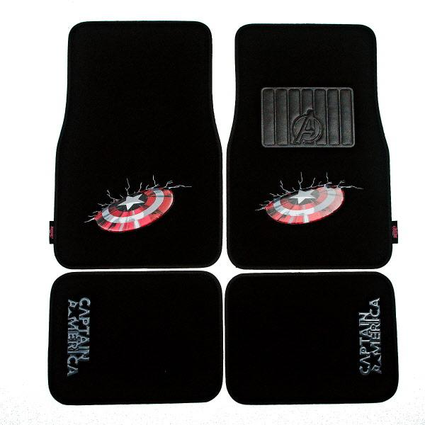 "Floor Mats Set 4 ""Avengers""  AVECM - Port Kennedy Auto Parts & Batteries"