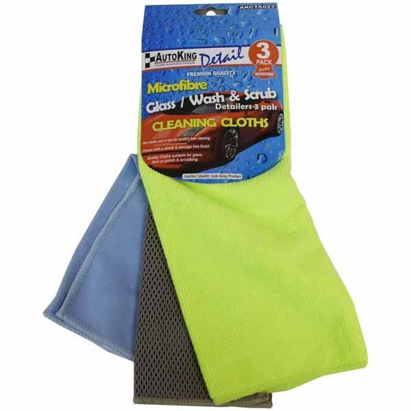 Cloth Cleaning 3pk AKCTA023 - Port Kennedy Auto Parts & Batteries