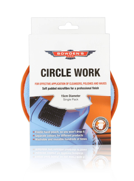 Cloth Circle Work Applicator Pad BOAMY - Port Kennedy Auto Parts & Batteries
