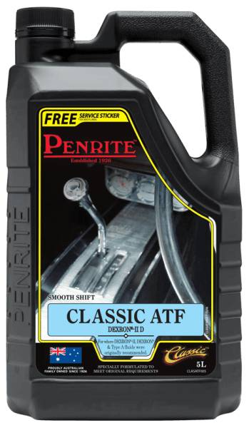 Transmission Fluid Penrite Classic ATF 5L - Port Kennedy Auto Parts & Batteries