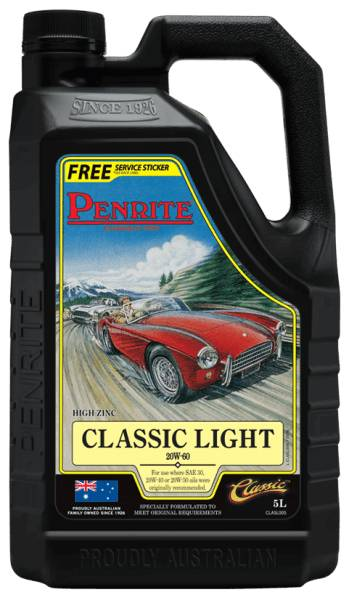 Oil Engine Penrite Classic Light 20W-60 (Mineral) 5L - Port Kennedy Auto Parts & Batteries