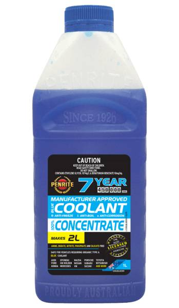 Coolant Penrite Blue 1L - Port Kennedy Auto Parts & Batteries