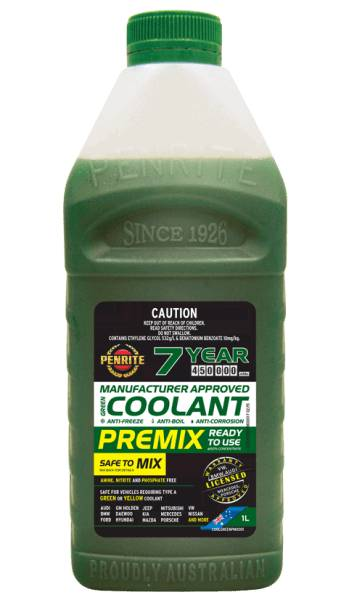 Coolant Premix Penrite 1L - Port Kennedy Auto Parts & Batteries
