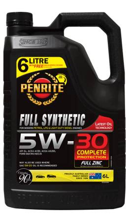 Oil Engine Penrite Everyday Full Synthetic 5W-30 6L EDS05006 - Port Kennedy Auto Parts & Batteries