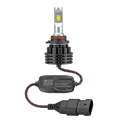 LED Headlight Upgrade Kit HB4 9 - 32V 6,500K Single Beam 5000 Lumens - Port Kennedy Auto Parts & Batteries