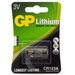 Battery GP Lithium 3v CR123A - Port Kennedy Auto Parts & Batteries