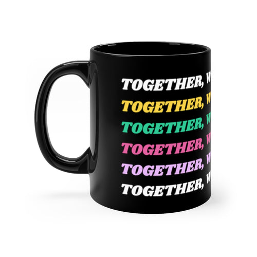 Together We Can Solve This mug