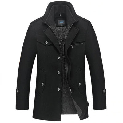 Androd Estate Peacoat Jacket SkyParka Black XS