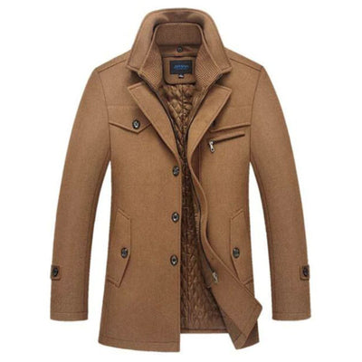 Androd Estate Peacoat Jacket SkyParka Camel XS