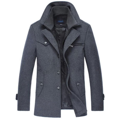 Androd Estate Peacoat Jacket SkyParka Gray XS