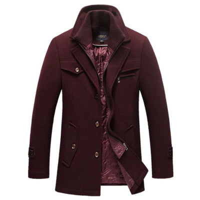 Androd Estate Peacoat Jacket SkyParka Red XS