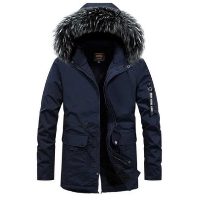 Montreal Winter Fox Parka Jacket LanceTactical Blue S
