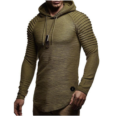 Recon Hoodie Sweater LanceTactical Army Green S