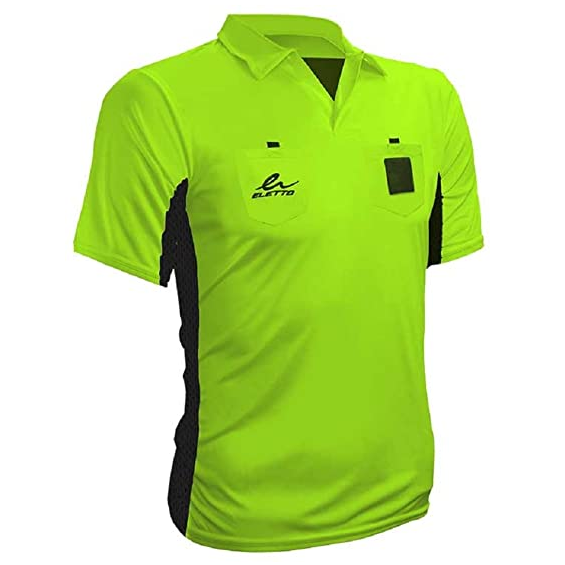 Eletto Authority Plus Ref Jersey - Volt Yellow